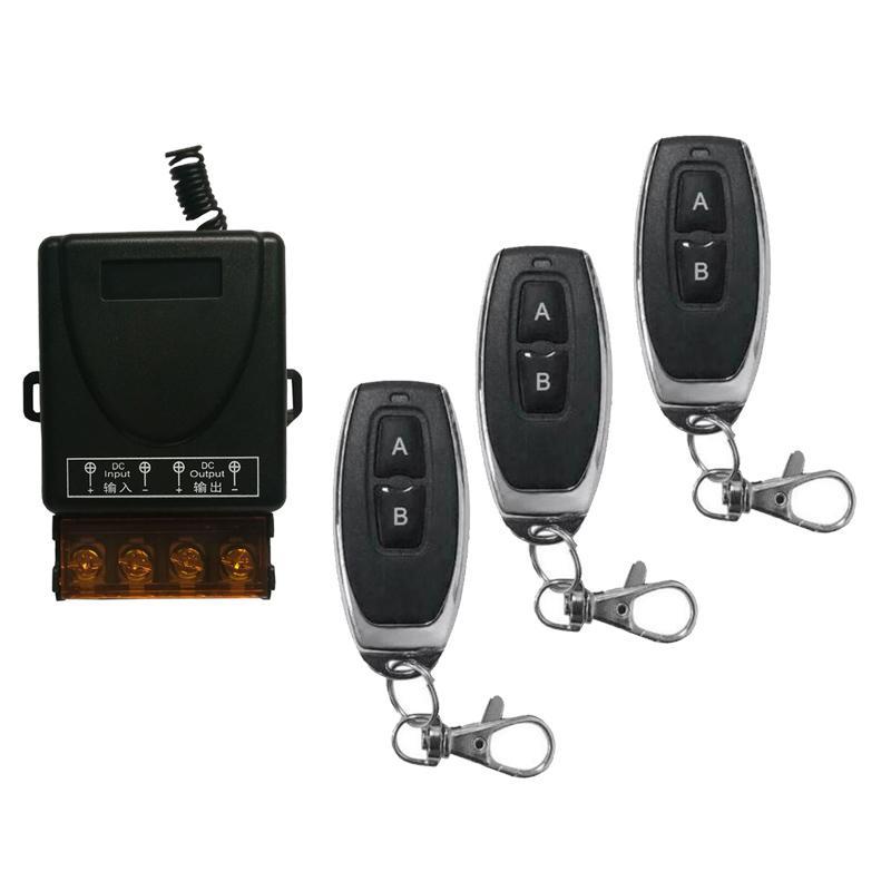 433Mhz AC 220V 1CH 30A RF Relé Módulo receptor de controle remoto interruptor + RF 433 Mhz controle remoto Para água Bomba Motor