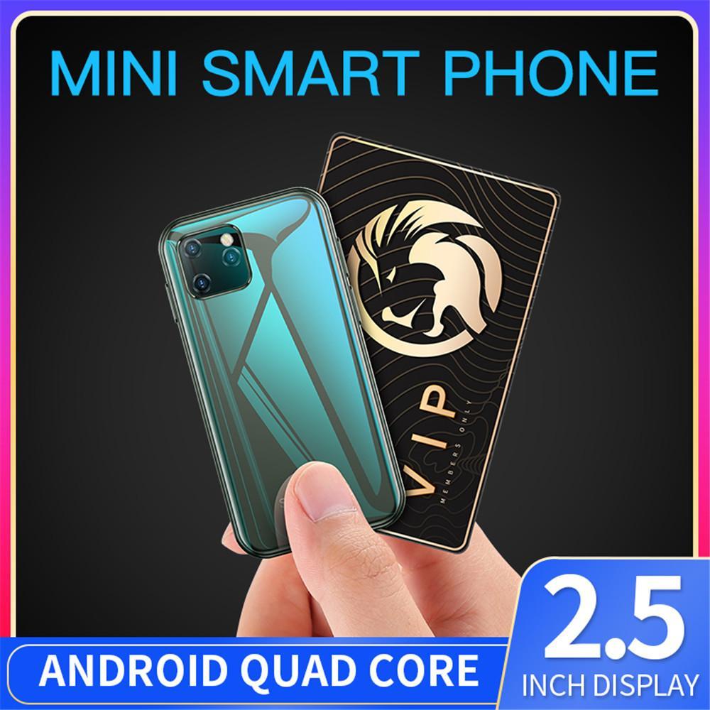 Original Soyes XS11 Mini Android-Handys 3D Glaskörper Dual Sim Unlocked Google Play Market Nette Smartphone Geschenke für Kinder Freundin