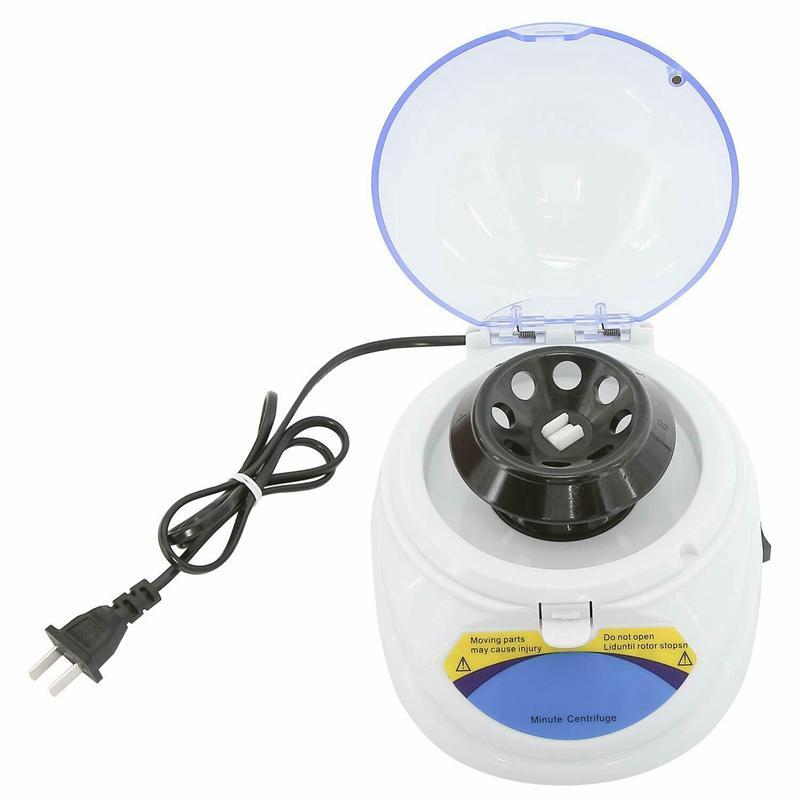 مصغرة 4K المهنية microcentrifuge لكهرباء الطرد المركزي مختبر أجهزة الطرد المركزي البسيطة 4000Rpm، الولايات المتحدة التوصيل