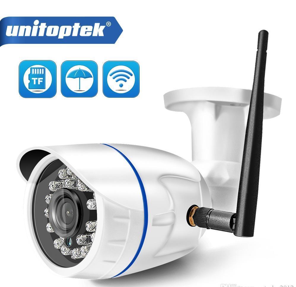 HD 1080P كاميرا IP لاسلكية WIFI في الهواء الطلق ONVIF CCTV فيديو الأمن الرئيسية رصاصة الكاميرا بطاقة TF فتحة للرؤية الليلية APP CamHi DHL سريع
