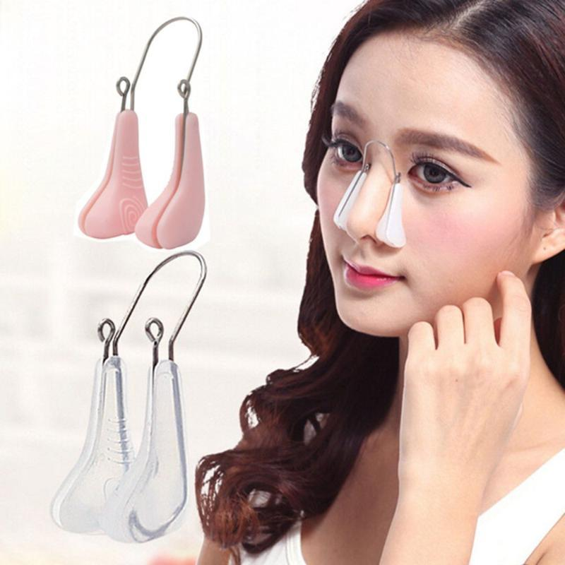 New 1 PC Soft Silicone Nose Shaper Lifting Clip Nose Bridge Shaping Corrector Up Slimming Massager Beauty Tools Sale