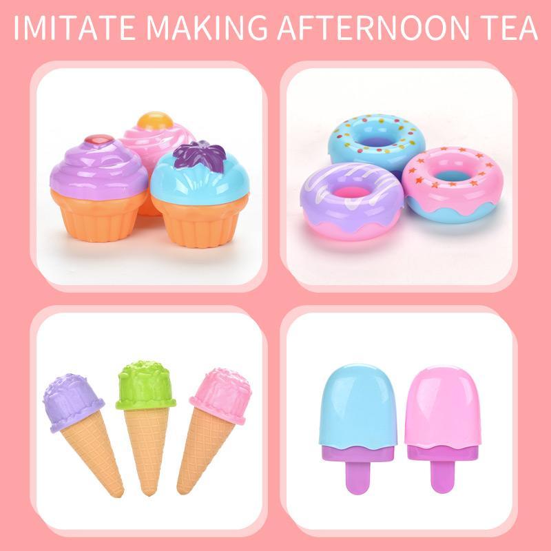 Classic Toys pour Kid 2020 Simulation de cuisine en plastique Afternoon Tea Set jouet pour enfant et fille