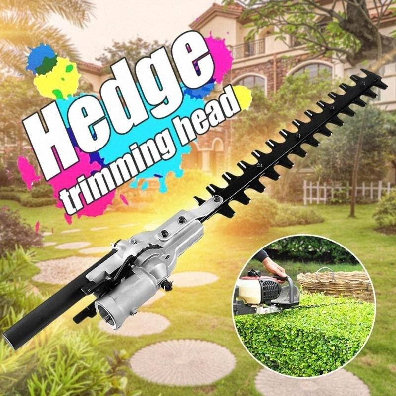 9 Teeth Pole Hedge Trimmer Bush Cutter Head Grass Trimmers For Garden Multi Tool Pole Chainsaw Garden Power Tools VJTD#