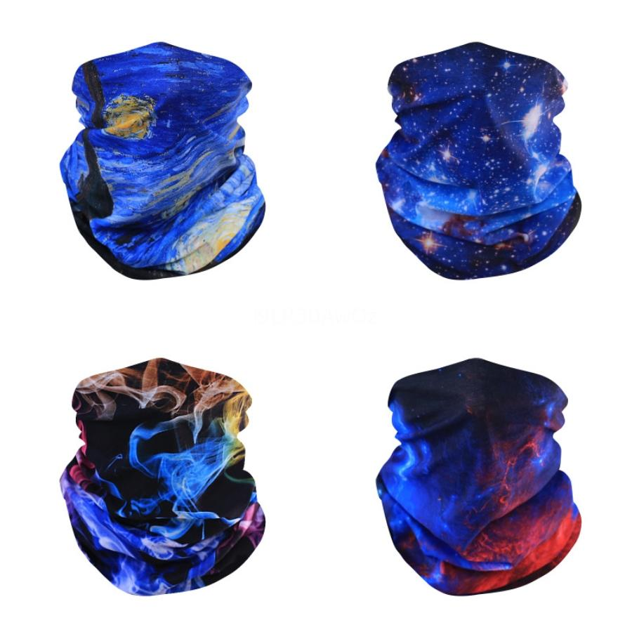 Máscaras Pastel Tie Dye Esponja Unisex Dustproof tatuagem Boca máscara máscaras WashableSponge o espectro de Qualidade # 869