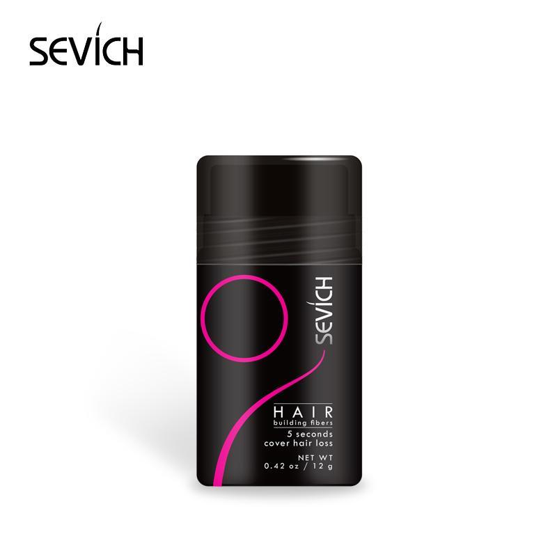 Соединенные продукты для волос для волос для волос Sevich Fiber Raights Fibers 12G бутылка 10 цветов