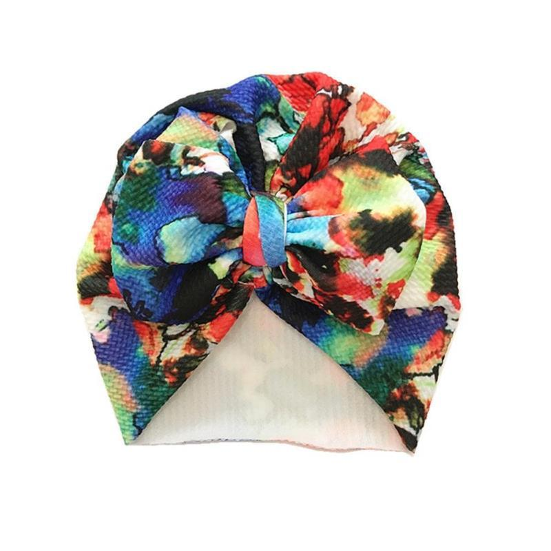 Hat Girl Infant Beanie Caps Kids Bowknot Cap Toddler Hospital Cute Comfy Boys Newborn Colorful Accessories Baby Baby bbynw bde_home