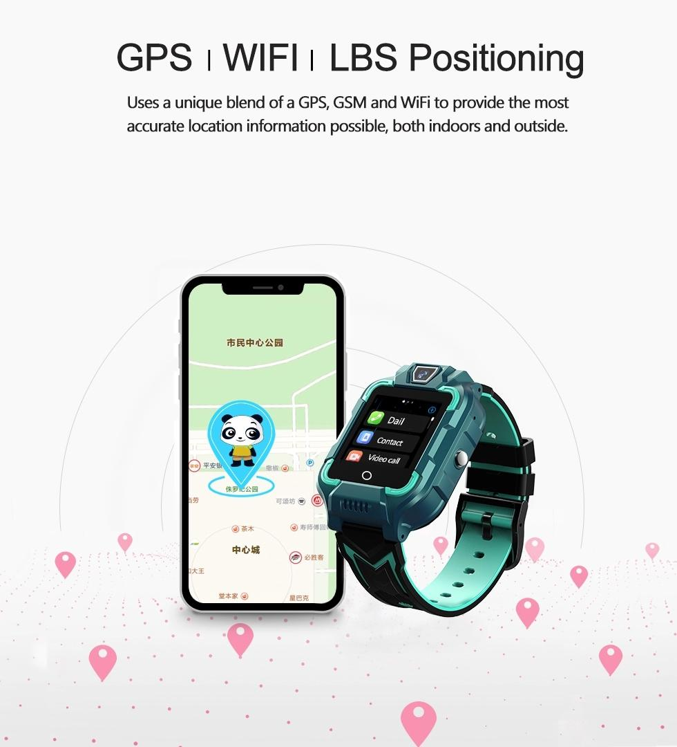 New Product Kid Watch With Ip67 Waterproof 4G Video Call GPS Positioning Children Mobile Watch Phones Children Kids Smart Watch