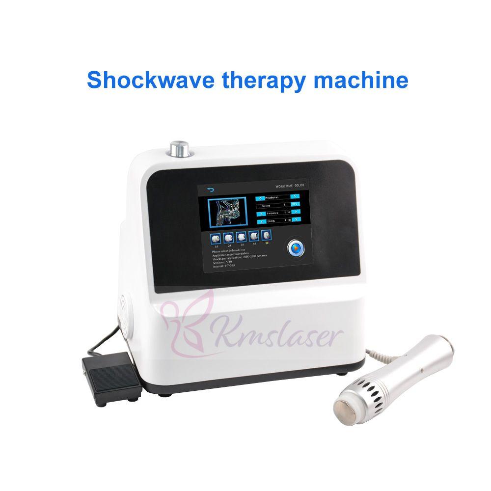 SW5S mit ED-Therapie physiotherapeutische Behandlung Maschine für alle Körperschmerzen Kleinste Physiotherapie Gerät / Elektrotherapie ESWT Maschine zum Verkauf