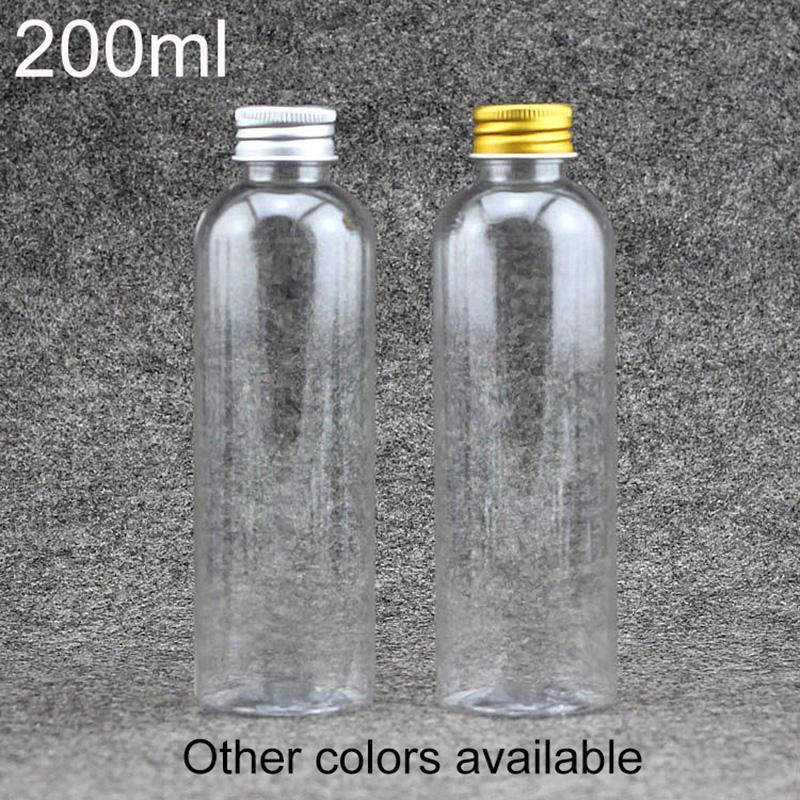 Boş Duş Jeli Şampuan Konteyner Ücretsiz Kargo Packaging 200ml Yüz Tonerler Şişe Plastik Kozmetik Su Losyon Krem
