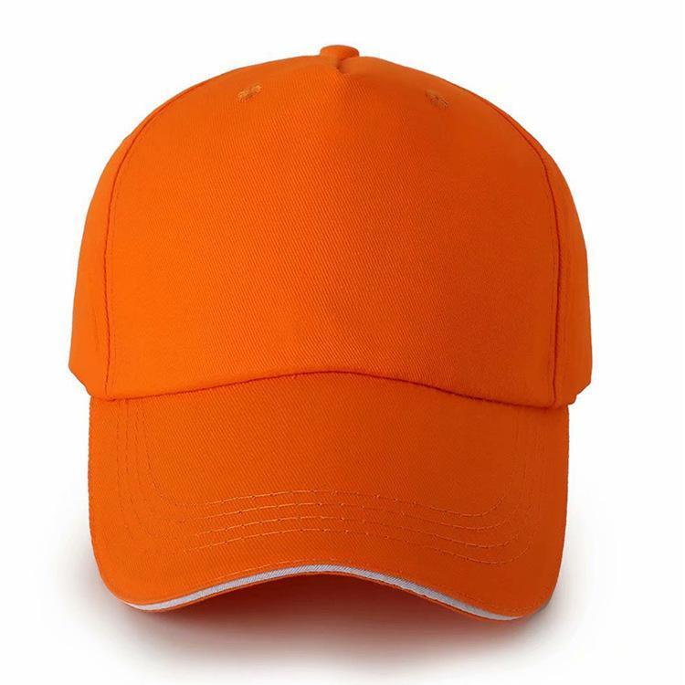 Pamuk Beyzbol şapkası Özel Logo beş Parça Sandwich sunbonnet Özel Gezi Reklam Cap Kamu Refah Grubu Şapka