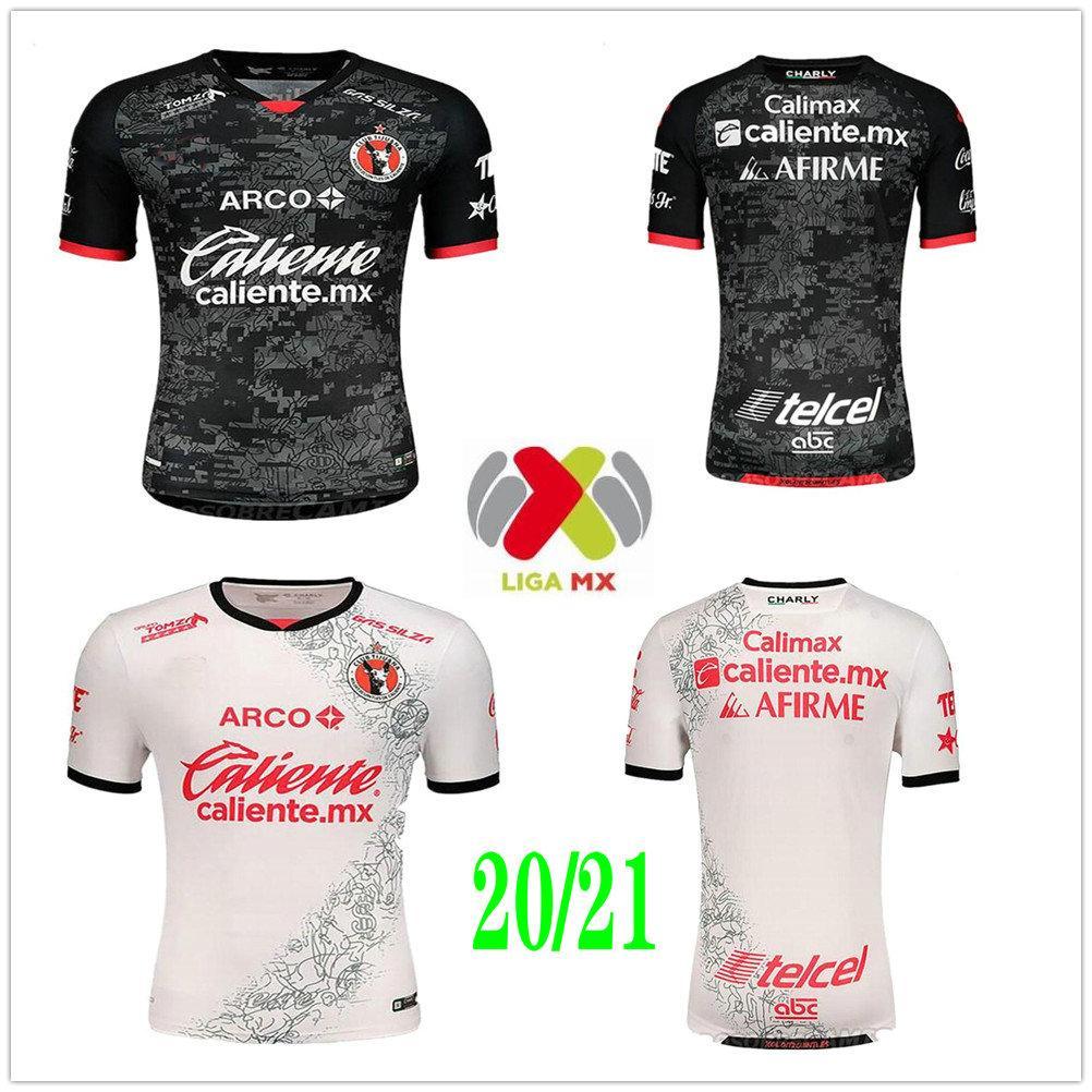 2020 2021 Meksika Kulübü Tijuana Futbol Formaları Rivero G.Bou Corona Lucero Malcorra Kalinski Özel Xolos De Tijuana Eve Uzakta Futbol Gömlek