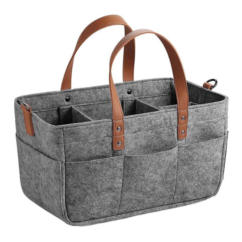 AYHF-Baby-Windel-Caddy Organizer Portable Halter Dusche Basket Tragbare Nursery Vorratsbehälter Auto-Speicher-Korb Für Wipes Spielzeug zu