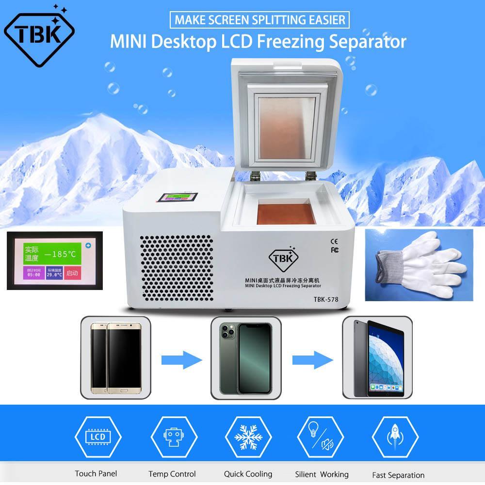 TBK 578 LCD separatore Congelatore Macchina per Samsung S7 S8 S8 + S9 S10 S10 + S10E note10 Nota schermo 10 Plus tocco Refurbish Riparazione