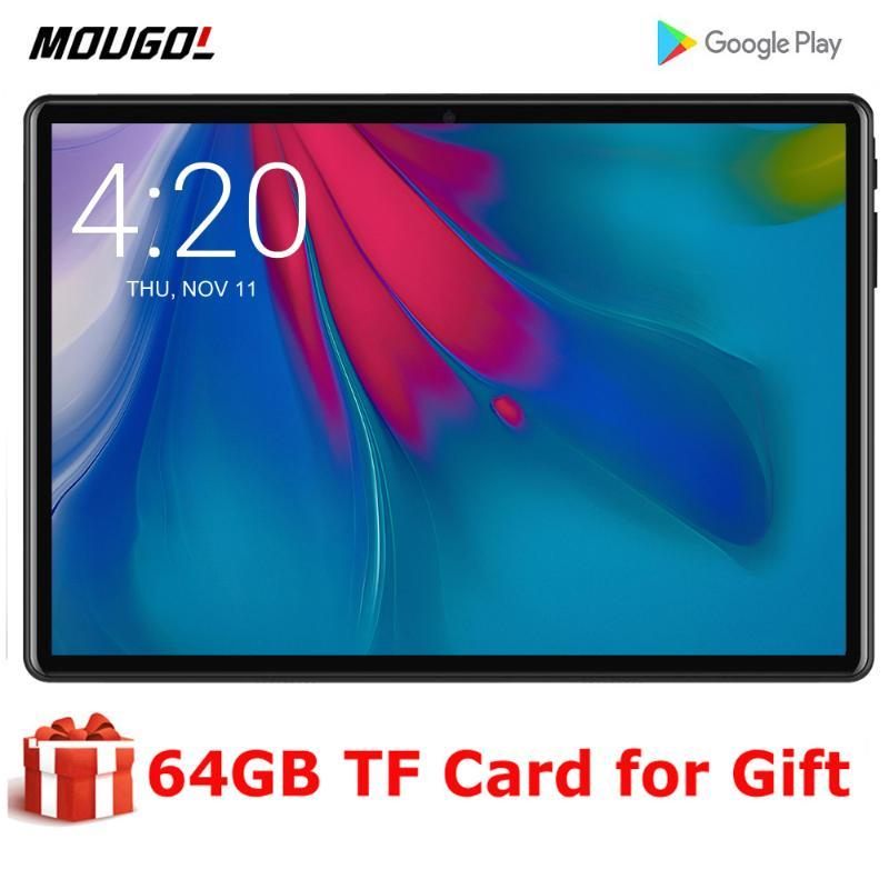 Envío rápido Android 9.0 OS tableta de 10 pulgadas 3G phablet 2 GB de RAM 32 GB ROM 1280x800 WiFi GPS Bluetooth Tablet 10.1 + regalos