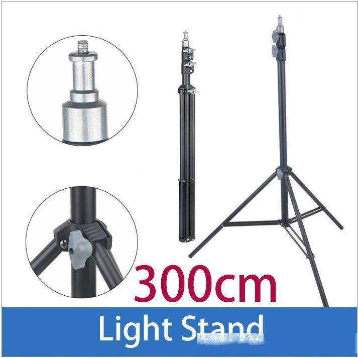 45cm 75cm 110cm 170cm 190cm 200cm Lumière Support pour photo studio la lumière de l'anneau de clignotant Godox éclairage trépied métallique