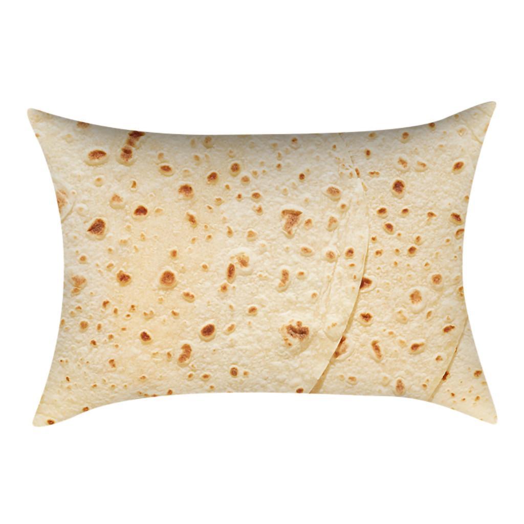 2019 Almofada de alta qualidade confortável Criação mexicano Burritos sofa Almofada (30cm x 50cm) coussin canapé