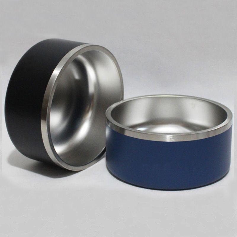 Ciotole 32 oz in acciaio inox bicchieri doppia parete coibentata vuoto grande capacità 32 once tazze animali Coppe Boomer ciotola del cane