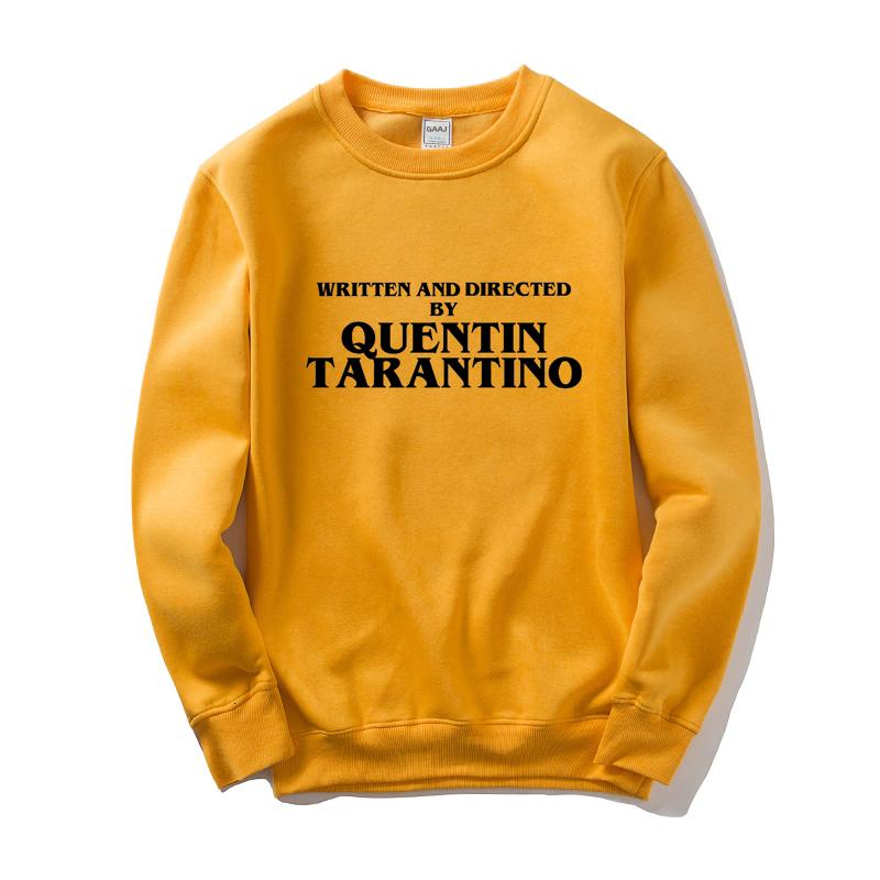 Scritto e diretto da Quentin Tarantino Uomo Donna Felpa Skate Abbigliamento uomo marchio di abbigliamento popolare 2020 New Man Sw