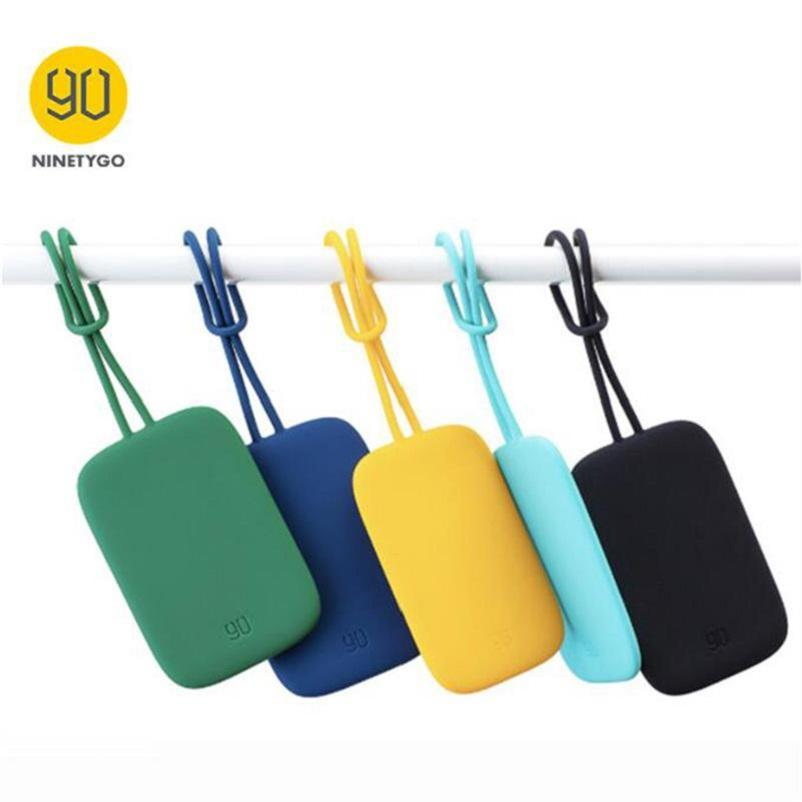 XiaomiYoupin NINETYGO 90FUN bunte Silikon-Gepäck-Tag Portable für Koffer Gepäcktasche Tag Anti-verloren Writing Aufkleber-Beutel-Teile