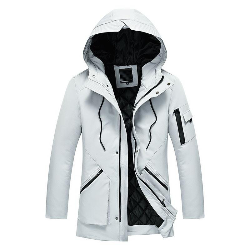 Men's Down & Parkas Winter Jackets M-5XL Thick Hooded Coats Men Outerwear 2021 Warm Jacket Male Brand Clothing