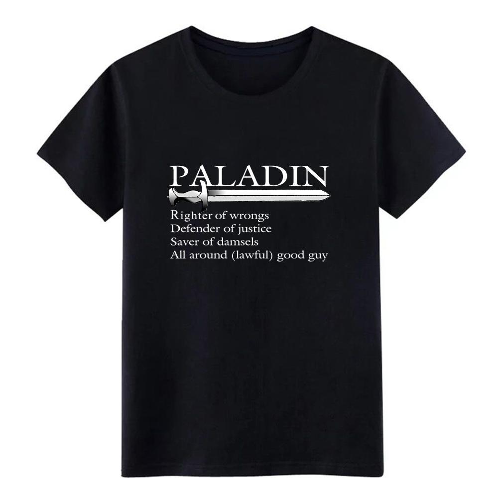 паладин белый м ен ы Джерси т рубашки с коротким рукавом Проектирование Нормальная Сыпучие Новая мода весна Обычная рубашка