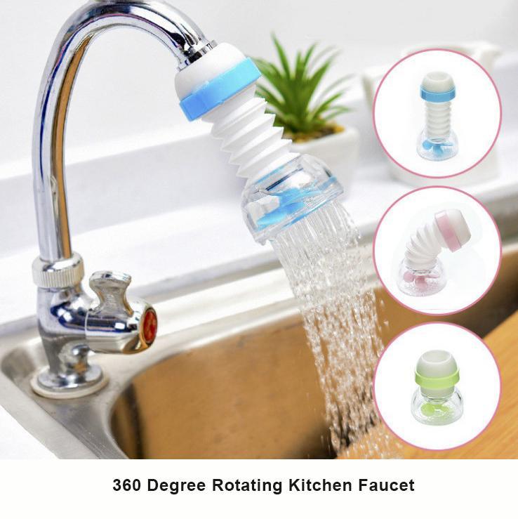 360 gradi casa ruotabile dispositivo del rubinetto di risparmio dell'acqua nel gorgogliatore testa girevole acqua aeratore ugello Tap Adapter
