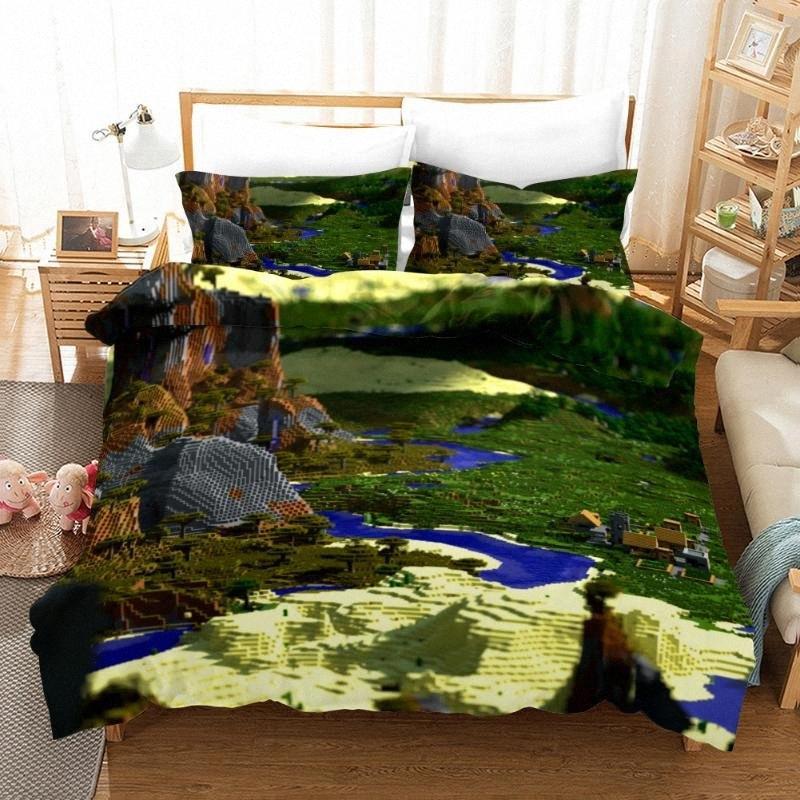 Clásico juego en 3D Héroes Imprimir lecho fundas nórdicas fundas de almohada de una pieza Consolador sistemas del lecho La ropa de cama Sábanas kc5x 03 #