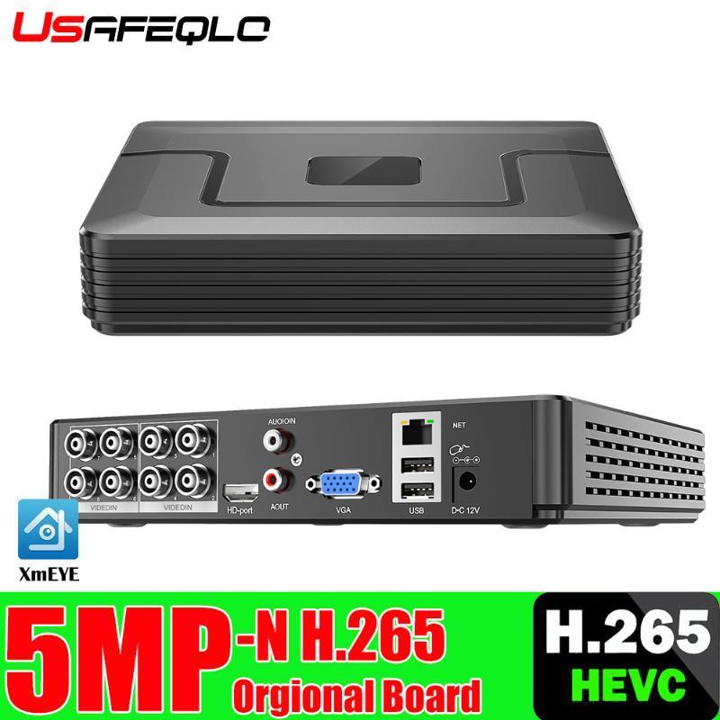 H.265 8CH 5MP 4MP 1080P AHD DVR HVR Surveillance Security CCTV Recorder 3G WIFI Hybrid DVR NVR For Analog AHD CVI TVI IP Camera