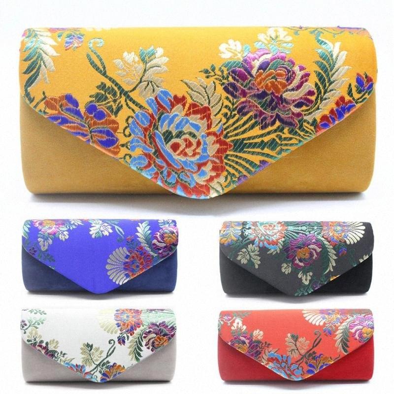 OCARDIAN bolso de Crossbody Bolsa de terciopelo bordado del estilo chino Cena bolsa de mensajero Bolsas Diseño Bolsa de hombro Bolsa Feminina 1,6 9XXJ #