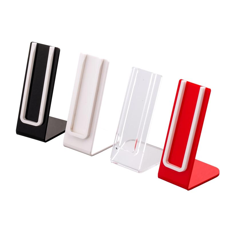 Acrylic display stand shelf holder base vape rack show for e cig disposable vaporizer vape pen battery and pods cartridge
