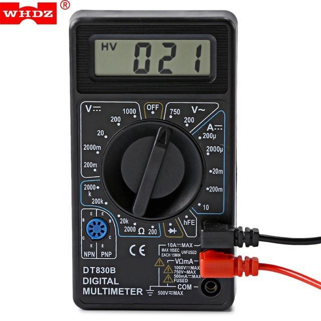 Digital Multimeter Ac Dc Voltmeter New Multimetro Voltage Current Resistance Tester For Electrical Multimeter Diode Test Free Shippiing Vb