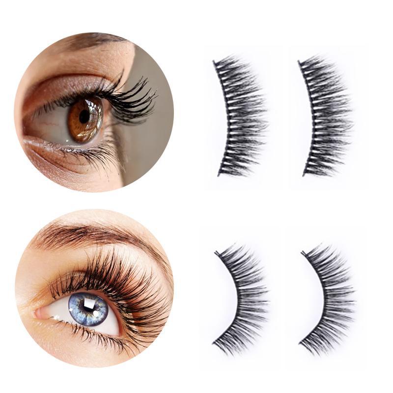False Reelashes Bonnie Choice Натуральные длинные вьющиеся вьющиеся густые ресницы для глаз расширение многоразовые косметические аксессуары