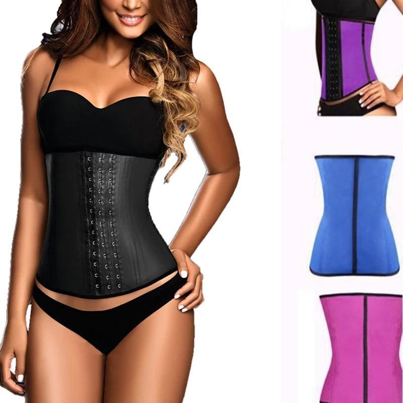 VIP 100% latex waist trainer slimming belt corset women tummy control waist cincher stomach slimming underwear girdle T200915