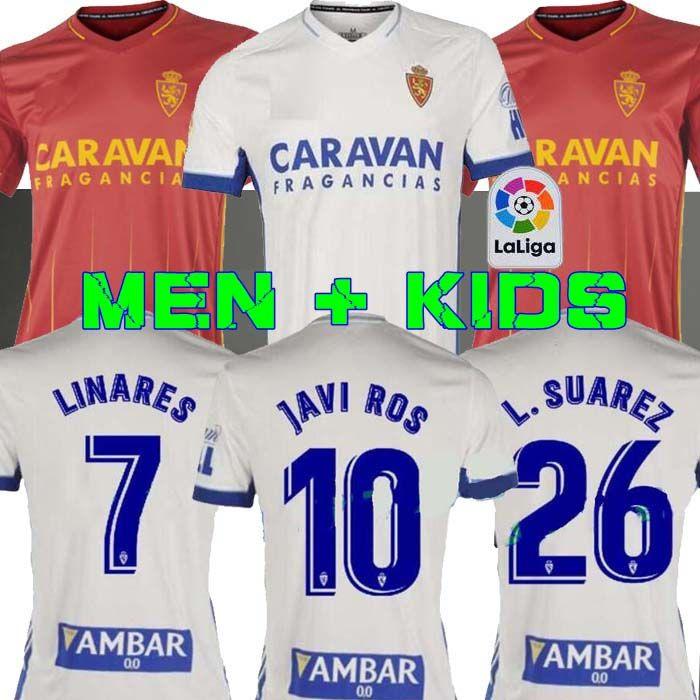 2020 2021 Real Zaragoza SUAREZ ЛИНАРЕС футбол Джерси 20 21 дом JAVI ROS футбол рубашка Соро Кагава Футбол Равномерное Camiseta де Futbol Гути