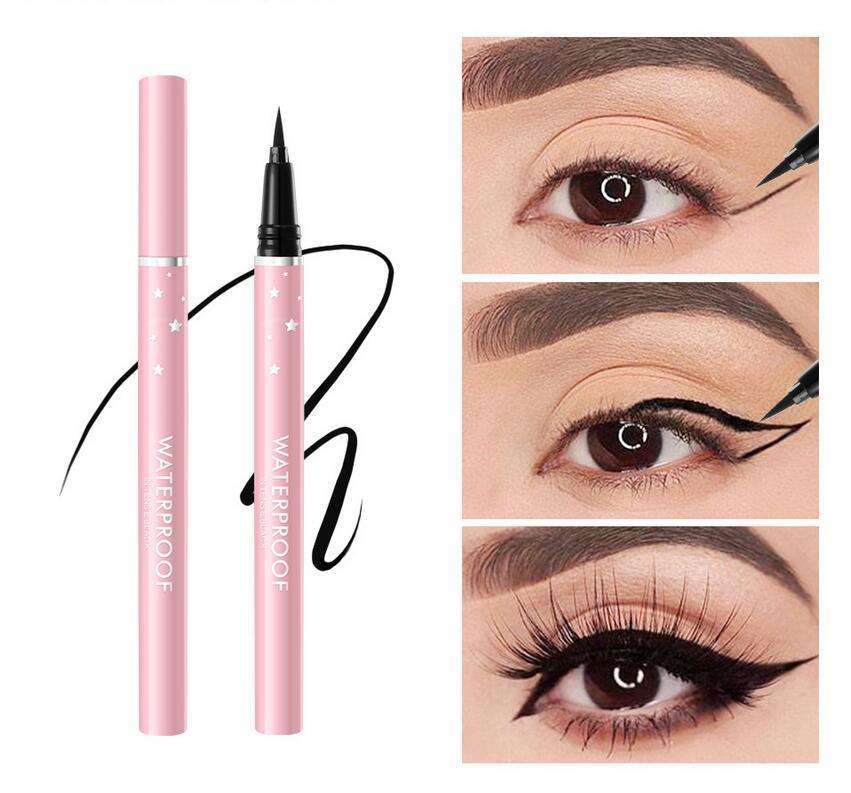 Eyeliner sponge tip cool black rich big eyes smooth outline
