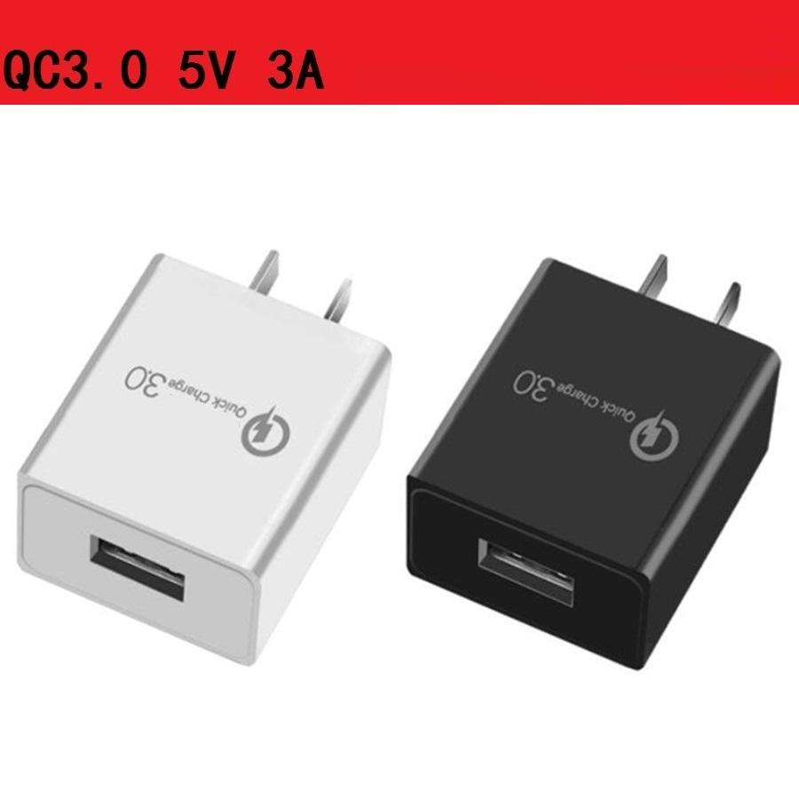 QC3.0 3А, 2А, 1А Eu США Ac Главная Путешествия зарядное устройство Автомобильный блок питания для Samsung s8 s9 s10 HTC Huawei андроид телефон ПК