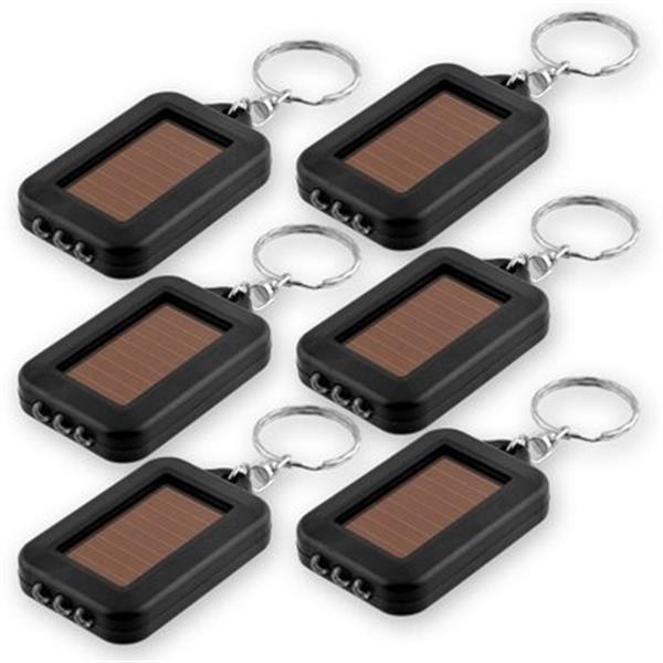 حار بيع المحمولة الشمسية القابلة لإعادة الشحن LED ضوء البسيطة المفاتيح المحمولة إضاءة مصباح زر البطارية الشمسية Lampswithout