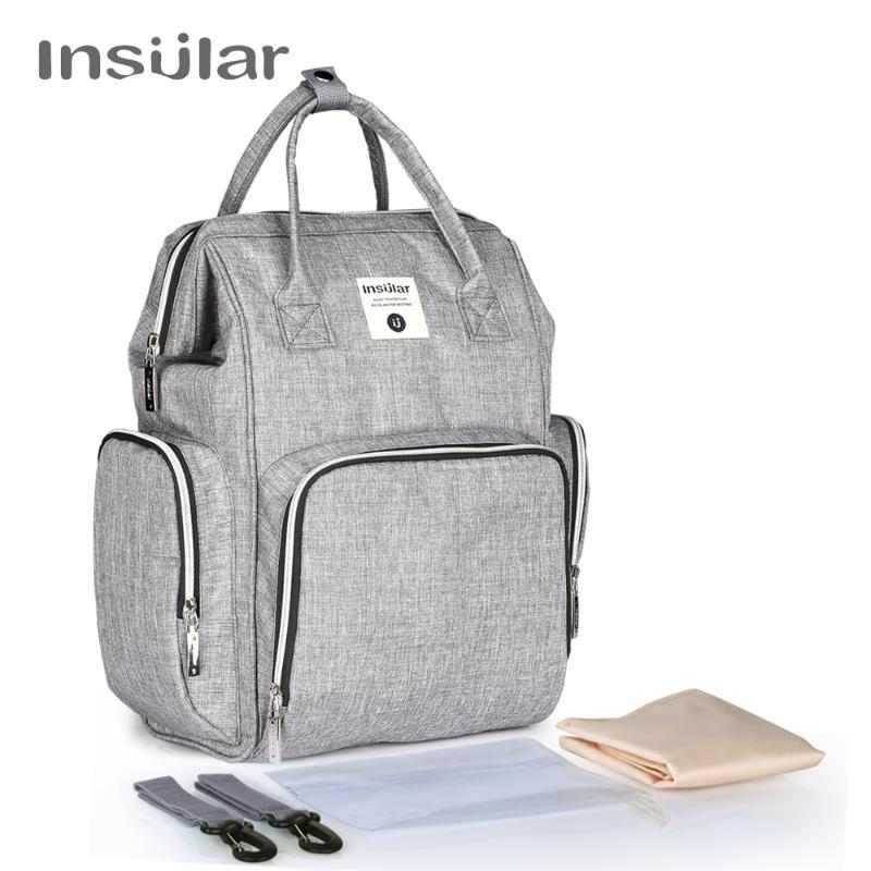Diaper Bags Insular Heavy Duty Baby Backpack For Mom Maternity Mother Bag