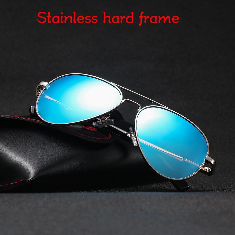 Дети ВС Очки Первоначально коробка Малый размер поляризованные авиации UV400 Солнцезащитные очки Классический Pilot 54мм Марка мальчика óculos De Sol девушки