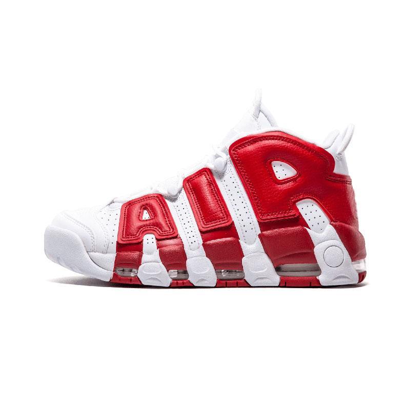 Moda Alta Qualidade do Ar mais Shoes Uptempo de Basquete Masculino Mulheres 96 QS Olímpico Varsity Maroon 3M formadores Sneakers Desporto tamanho 36-47