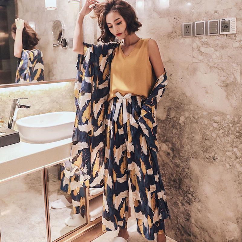 4 stück für frauenflor flor flüge pyjamas neue gedruckte pyjamas frauen pijama mujer sommer pyjama set vgnrp