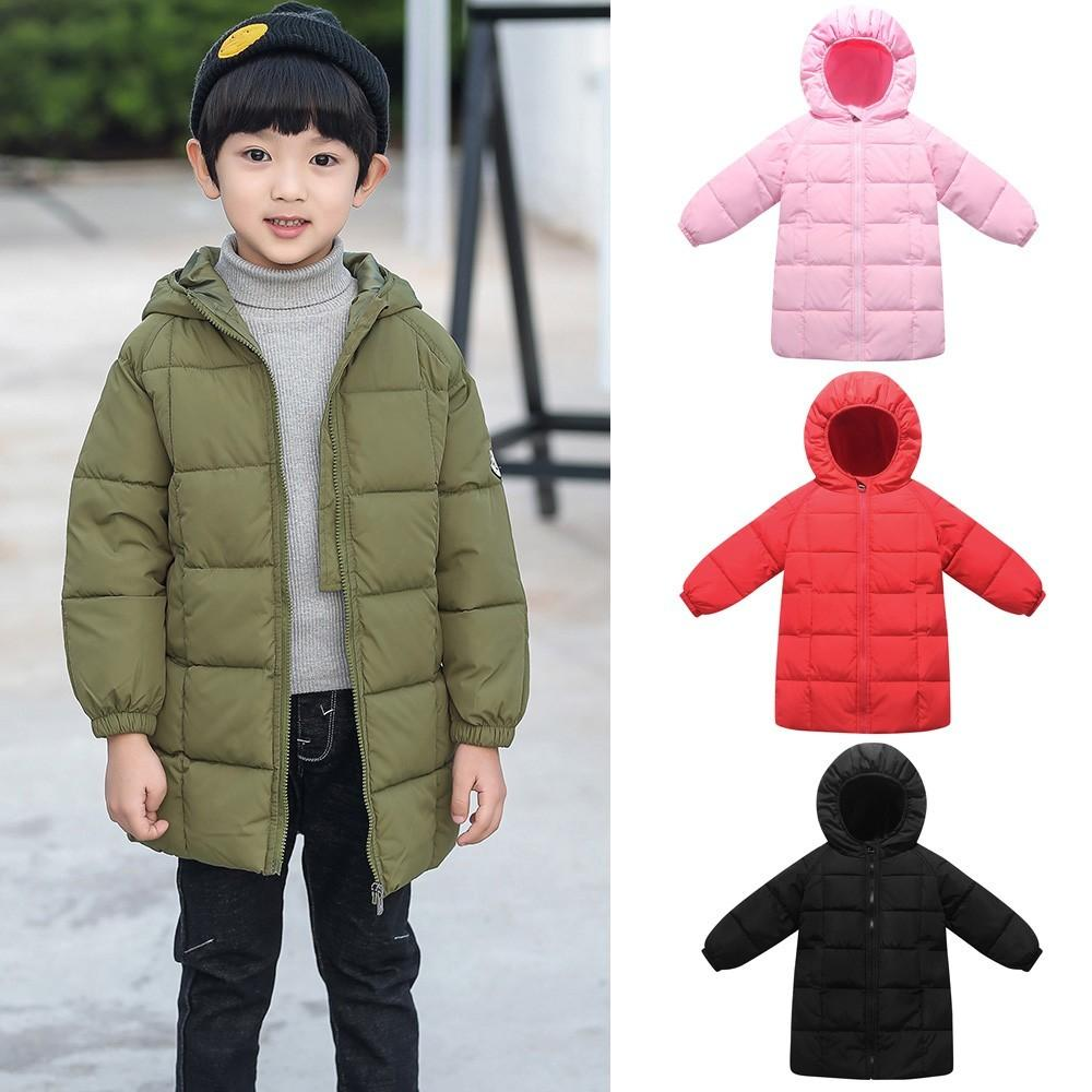 ARLONEET Autumn kids Baby Cotton Hooded Coat Jacket 2019 Cute Girls Boys Fashion Type Warm Outwear Clothes Winter Jackets C0924