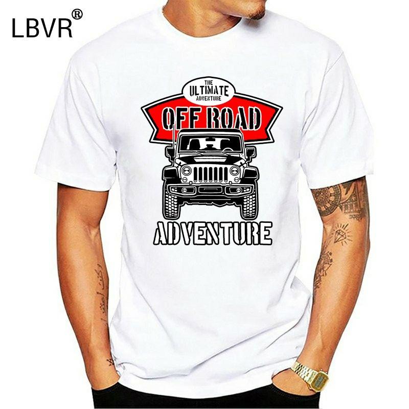 Off Road shirt T Rover Mens 4x4 Land 90 110 Defenders Svx engraçado Quatro 4