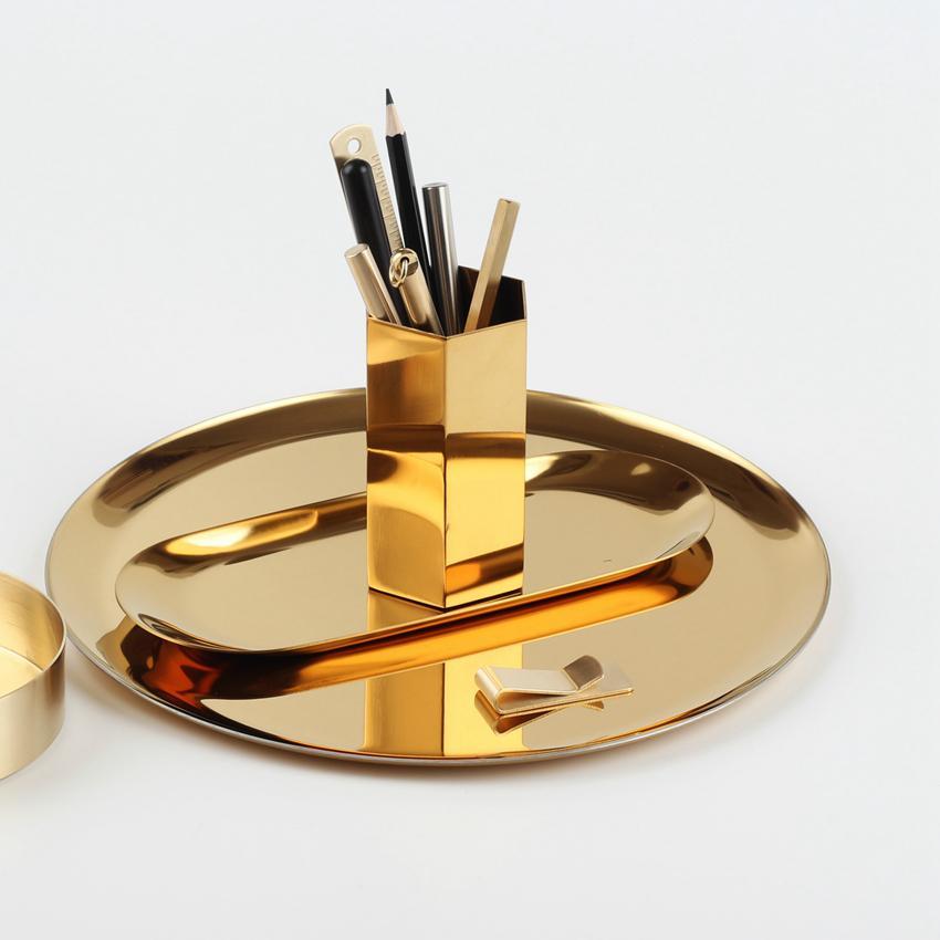 معدن علبة حلويات صينية لوحة البيضاوي لوحة المجوهرات الصواني الفولاذ المقاوم للصدأ لوحة المرطبات لوحات كب كيك بان كيك أدوات مطبخ GGA3715-6