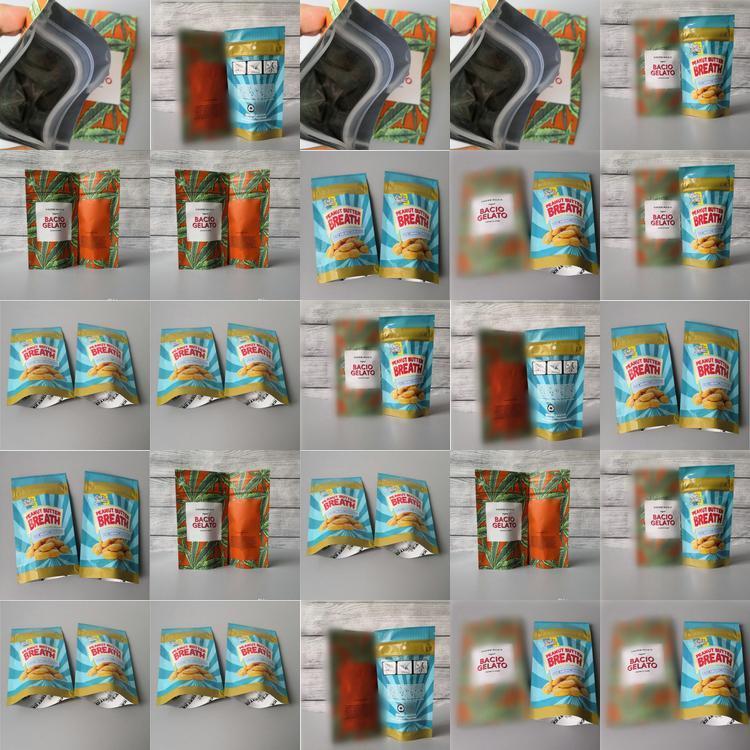 Sherbinskis Bacio Gelato Erdnussbutter Atem riechen Proof Mylar-Beutel Fastfood- Beutel Verpackung Beutel für trockene Kräuter Blumen rQIEQ hotstore2010