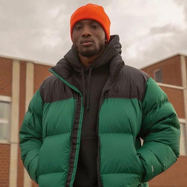 Cálido 55FW clásico Nuptse chaquetas de invierno al aire libre a prueba de viento abrigos Pan chaqueta abajo de la calle de gama alta Outwear HFYMJK329