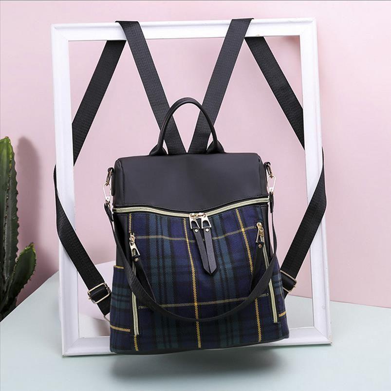 Womens moda mochila mochila bolsa de nylon impermeable anti robo del bolso de hombro de ocio mochilas impermeables rugzak JS5