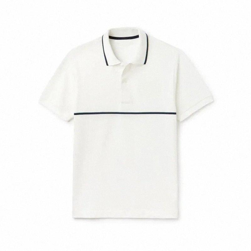 Высокое качество Мужская с коротким рукавом рубашки крокодиловы лето 100% хлопок случайные рубашки для мужчин мода Ьотте bLqL #