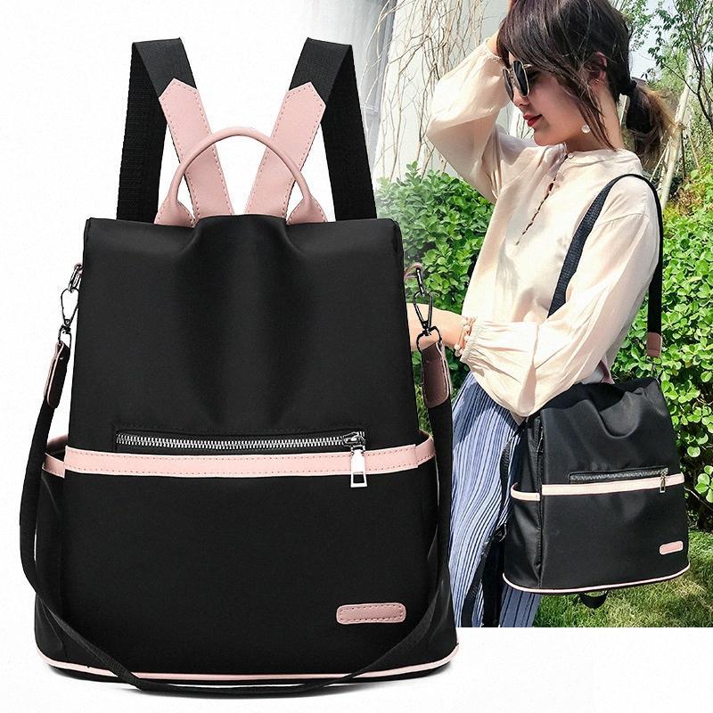 Oxford Backpack Vintage Mulheres Viagem Satchel Ombro Casual Pack Escola Vintage Bagpack Feminino Voltar bonito Backpack Mulheres Ev0W #