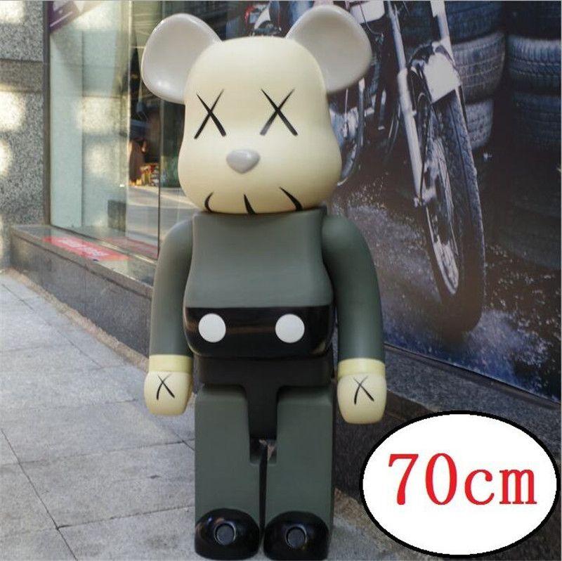 TOP 1000% 70cm Be @ rbrick Originalfake KAWS e una varietà di tipi CH Art figura bambola Collezione PVC modello di camera decorazioni capretti del regalo